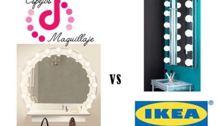 Diferencias entre Espejos de Maquillaje Vs IKEA